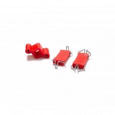 Подушка подвески глушителя ВАЗ 2101-2107 CS-20 (DRIVE) полиуретан красный