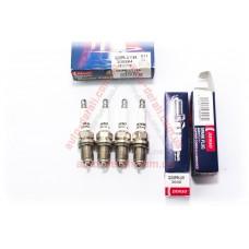 Свечи зажигания DENSO Q20PR-U11 (3008) [D11] ВАЗ 2110, 2111, 2112, 2113, 2114, 2115, Калина, Приора (16 клап.двиг.) к-кт 4шт