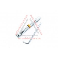 Ключ свечной (трубка) 16+21 с воротком - двухсторонний LAVITA