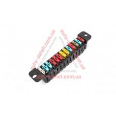 Блок предохранителей (монтажный блок) ВАЗ 2101-2106 нового образца (13 предохр) ЛУЧ