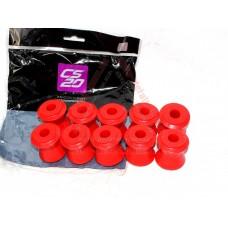 Втулки реактивных тяг (большие) ВАЗ 2121, 2101-2107 CS-20 (DRIVE) полиуретан красный