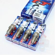 Свечи зажигания DENSO Q20TT (4608) [T07] ВАЗ 2110, 2111, 2112, 2113,  2114, 2115, Калина, Приора (16 клап.двиг.) к-кт 4шт