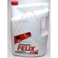 Антифриз красный 10кг G12 FELIX Carbox (Тосол-Синтез) (-40)