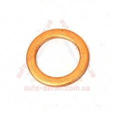 Шайба уплотнительная медная d=10-14 (1мм) шланга тормозного ВАЗ 2101-2107