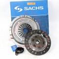 Комплект сцепления (корзина, диск, выжимной) ВАЗ 2108, 2109, 21099 (нов. обр.) SACHS (3000 951 211)