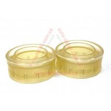 Вставки в пружины межвитковые 50мм (25мм) (d=110-130мм) силикон (проставки, подушки) (2 шт.)