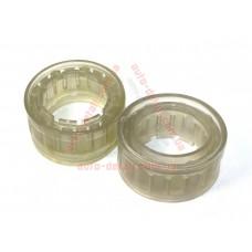 Вставки в пружины межвитковые 85мм (55мм) (d=170-200мм) силикон (проставки, подушки) (2 шт.)