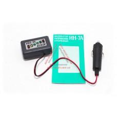 Индикатор напряжения (зарядки) ИН-7А - в прикуриватель с удлинителем ТЕК