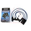 Провода свечные (бронепровода) силикон ВАЗ 21082, 2109, 21099, 2110-2112, 2113-2115 (инжектор 8 клап) TESLA (T395S)